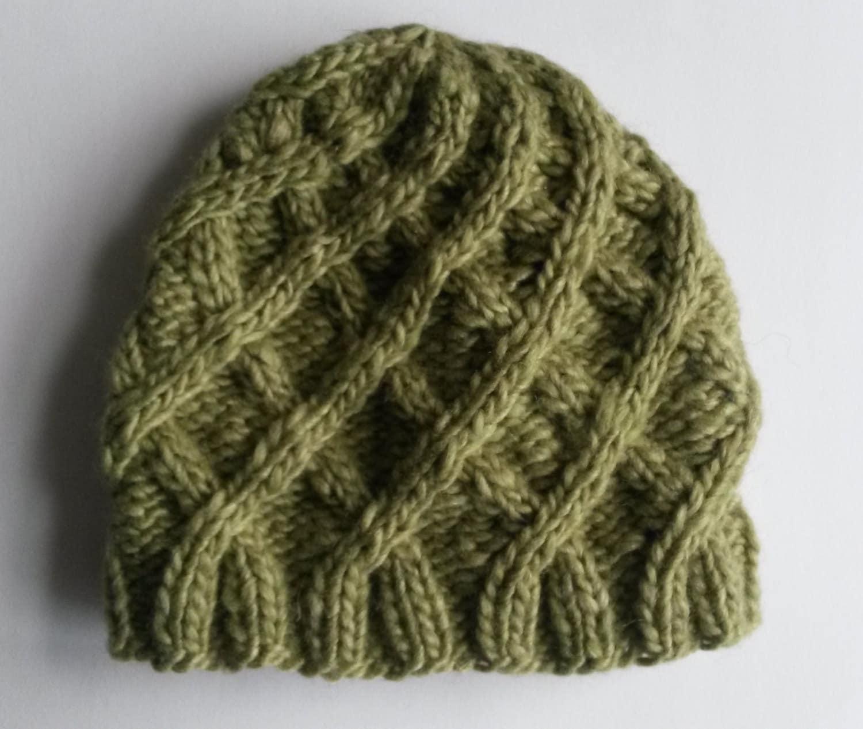 362f319ce1f Aran Baby Hat  handknit baby beanie in luxury silk cashmere Noro ...