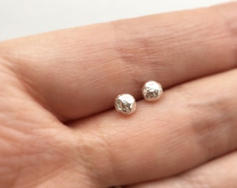 b44ce4eb6 Simple Sterling Silver Studs-Everyday, Staple Earrings