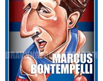 Marcus Bontempelli Footy Hero Poster