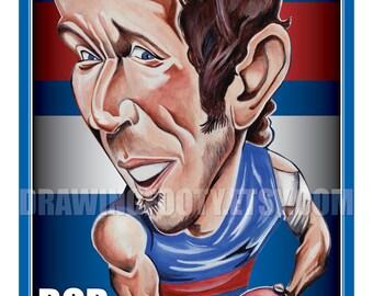 Bob Murphy Footy Hero Poster