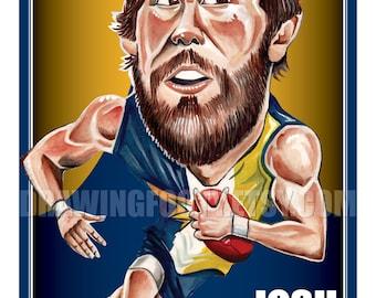 Josh Kennedy Footy Hero Poster