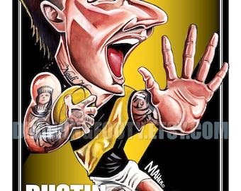 Dustin Martin Footy Hero Poster