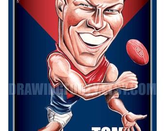 Tom McDonald Footy Hero Poster