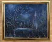 Legend - Original Oil Painting.