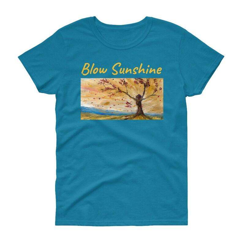 Blow Sunshine  Women's short sleeve t-shirt image 0