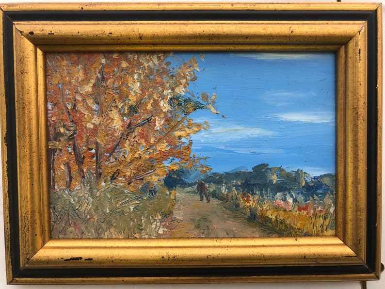 Piece of a Perfect Day Original Oil Painting. image 0