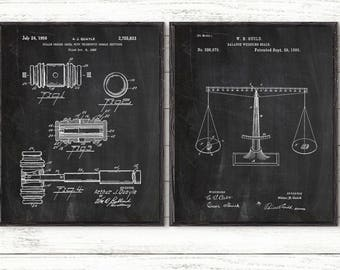 Law Patent, law enforcement, lawyer gift, lawyer art, law student gift, home decor, lawer office, Patent print, vintage poster, set of 2