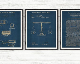 Law student patent, Law balance, Scales of Justice, Lawyer Patent,Law Patent Set,Gavel Patent,Lawyer Poster,Judge Patent, Lawyer Gift #238
