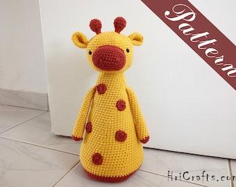 Crochet giraffe doorstopper, pattern giraffe amigurumi, door stop, door stopper, crochet doorstop, crochet pattern door stopper housewarming