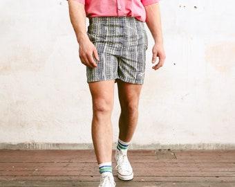 Vintage Reebok Summer Shorts . Men 90s Printed Swim Shorts Swim Trunks Bold Surfer Shorts Beach Shorts Swimwear Beachwear . size Small