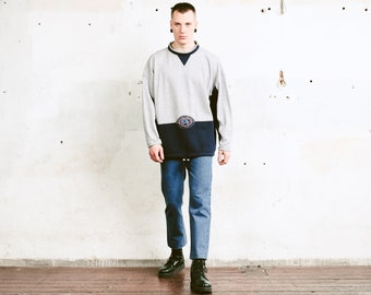 Vintage Athleisure Sweatshirt . 90s Sports Sweater Men Retro Sweatshirt Everyday Sweater Streetwear 90s Clothing . size Extra Large XL