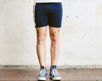 Vintage Reebok Sports Shorts . Pants Tracksuit Bottoms Men's Summer Shorts 90s Board Shorts Surfer Shorts Hipster Outfit  . size Large L