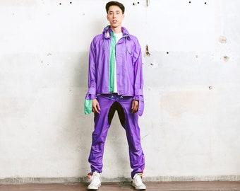 Vintage Gore-Tex Rain Suit . Bold Windbreaker Suit Tracksuit Wind Jacket Spring Jacket Outerwear Shellsuit 90s Nylon Suit . size Small