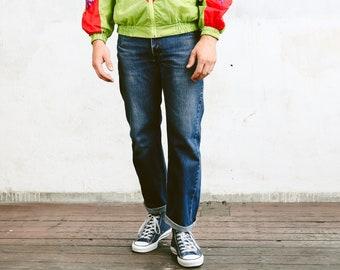 Vintage Levis 751 Pants . Mens Jeans Dark Wash Blue Denim Pants Dad Jeans Casual Trousers . size W31 L30