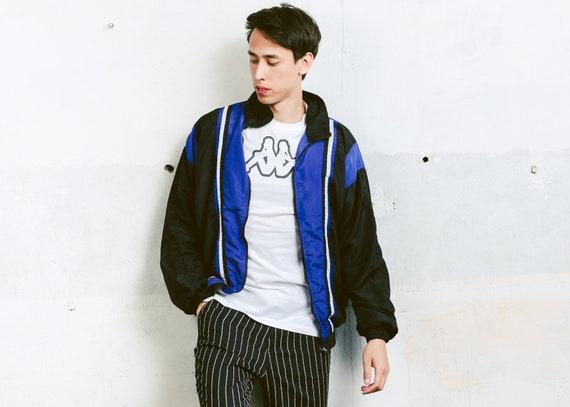 90s Men Shell Jacket Vintage Sports Jacket Windbreaker 90s Etsy