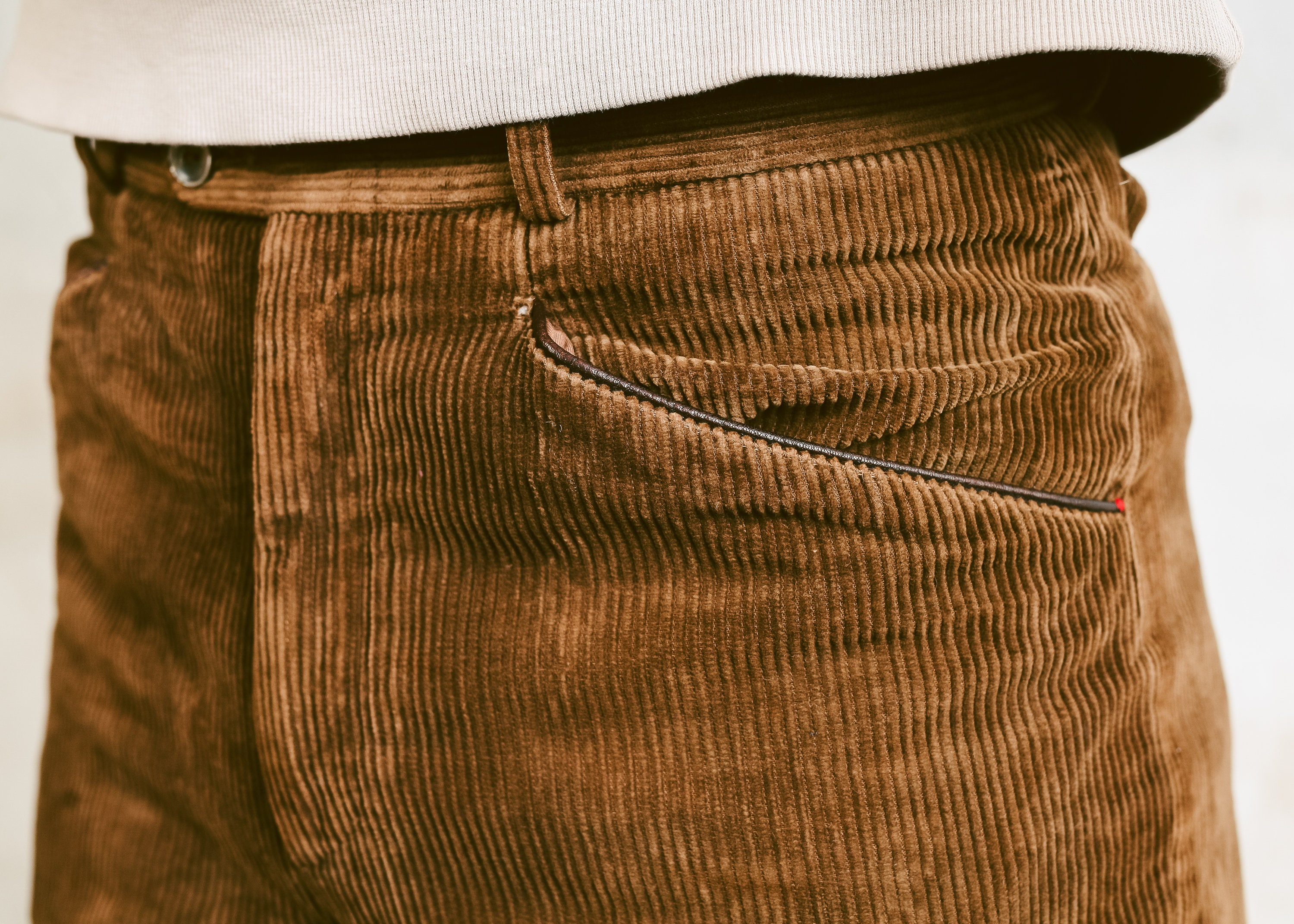 70s Men Corduroy Pants Vintage Brown Cord Trousers Nerd Dad Gift Normcore Straight Leg Size Small