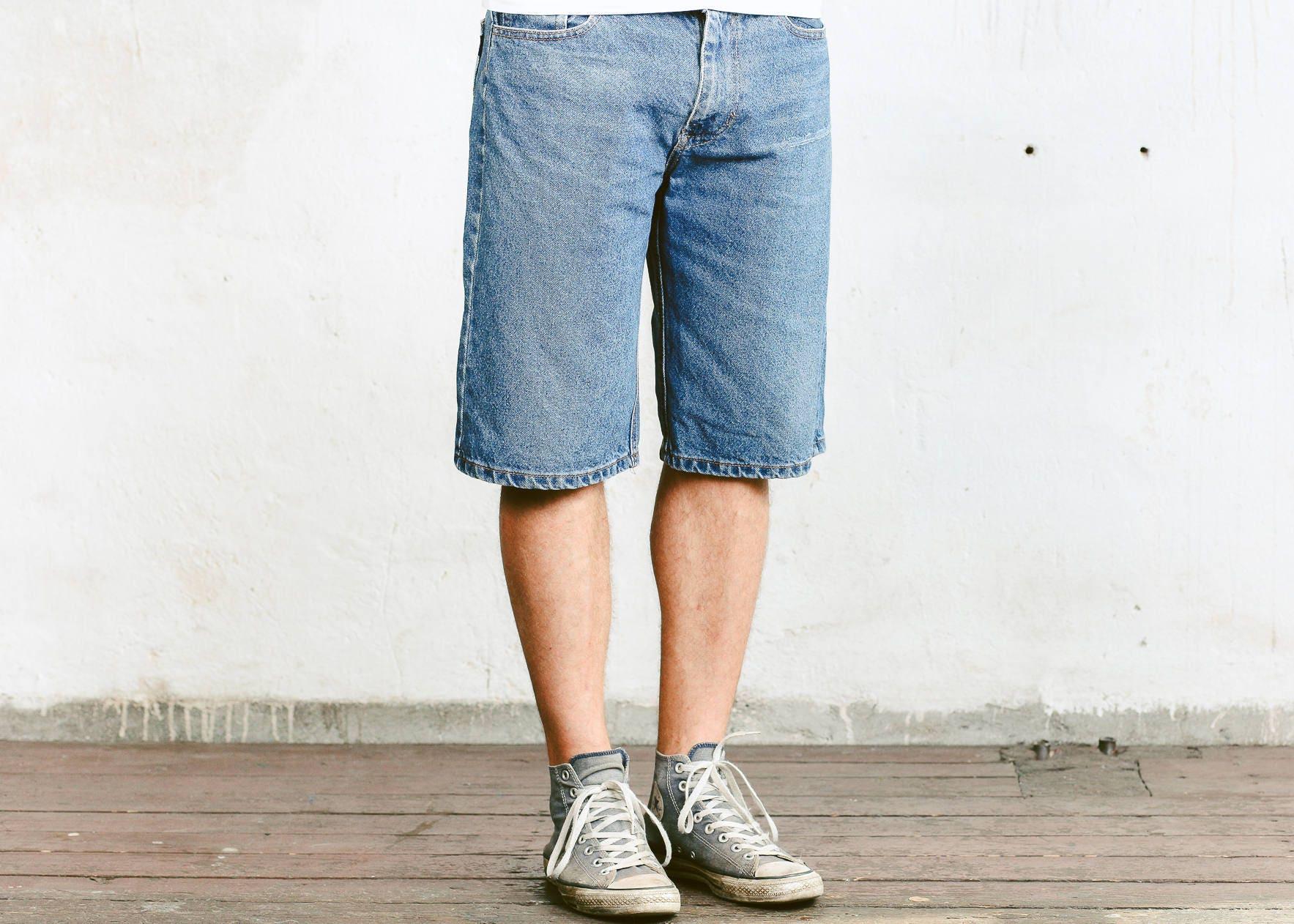 cf2f54292 Tommy Hilfiger Shorts . Mens Vintage Jean Shorts Classic 90s | Etsy
