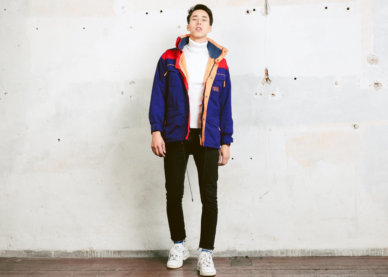20eeed1371 Men s 90s Style Ski Jacket . Men Parka Jacket Winter Jacket Skiwear ...