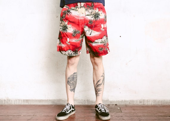 Abstract Art Classic Summer Surfing Trunks Surf Board Shorts Beach Shorts with Pockets for Men