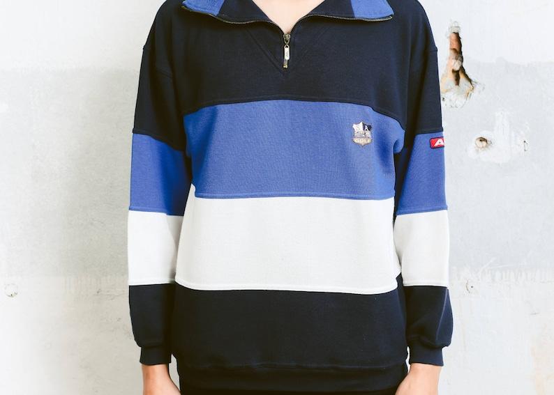 903e3f9e9c4 Vintage Rugby Shirt . Mens 90s Sweatshirt Unisex Pullover | Etsy