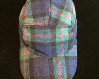 d3bca07ba55 Plaid Wool 3 Five Panel Hat