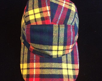 ee28d9d1893 Plaid Wool 2 Five Panel Hat