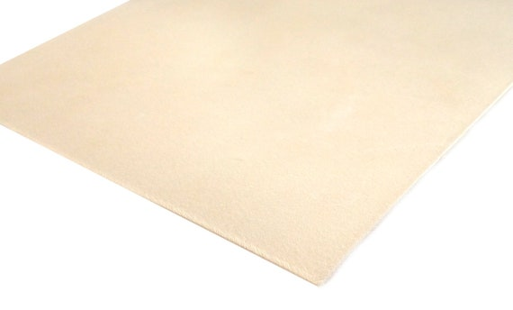 """6/"""" x 24/""""  2-3 oz Veg Tan CALF Tooling Leather for Book Binding Wallets Journals"""