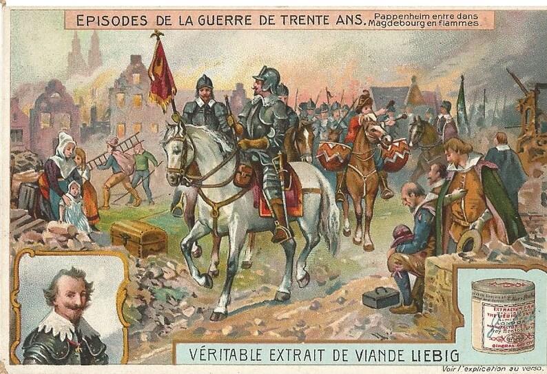Liebig Episodes de la Guerre de Trente Ans