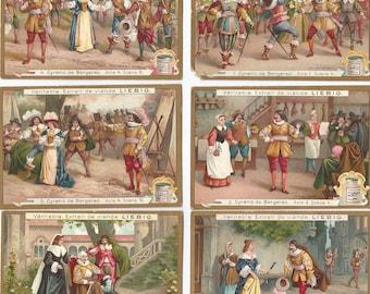 Liebig cards: Cyrano de Bergerac