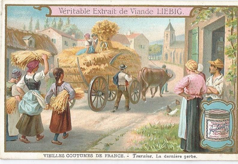 Liebig Veilles coutumes de France