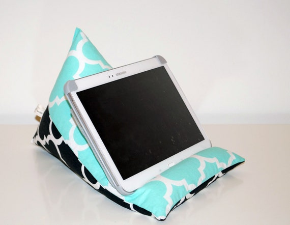 Kissen Für Tablet vierpass marokanische schwarz mint grün tablet kissen gadget   etsy