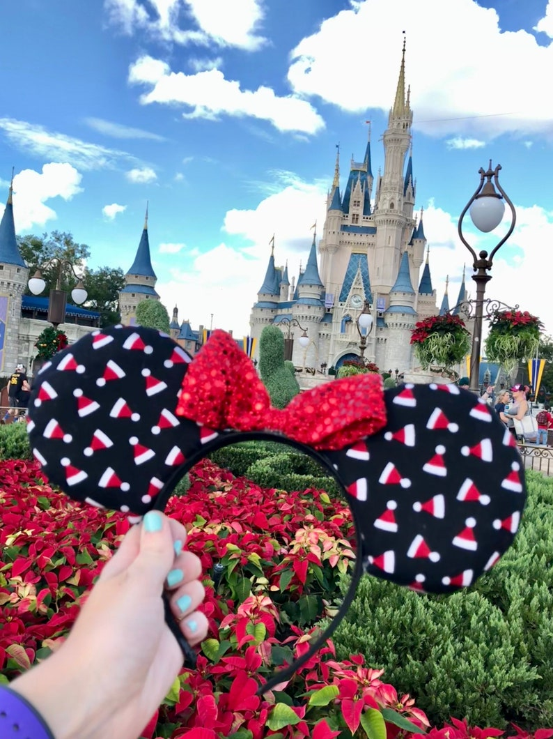 e9a3a0f7b2482 Disney Christmas Ears Disney World Christmas Disneyland