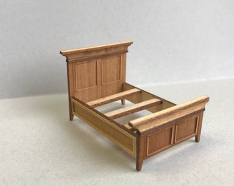 """1/4"""" or 1/48 Inch Scale Miniature Bed Kit"""