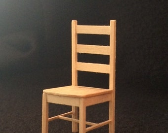 "1/2"" or 1:24 Scale Kitchen Chair Kit"
