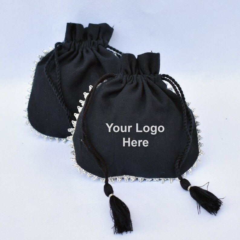 Jewelry Pouch Personalised Pouch Wedding Favor Bags For Candy 100 Drawstring Pouch Jewelry Packaging Small Cotton Bag
