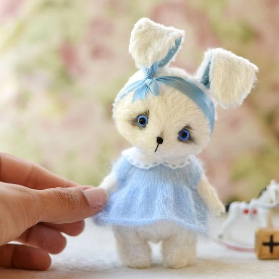 Patrón de conejo y gato peluche 12 cm 472 pulgadas del | Etsy