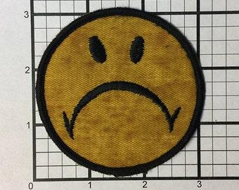 966ef75fa660 Sad face patch
