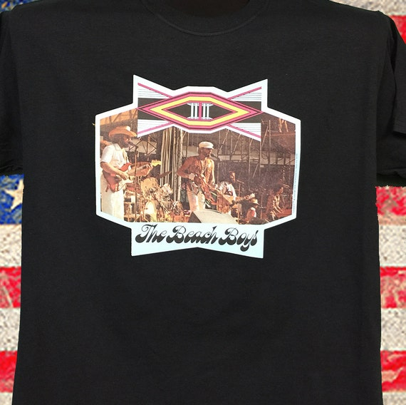 The Beach Boys 70's NOS very Rare transfer over almost 40 years old. On black NOS Super soft. Only 2 left All sizes won't last long Petsongs fYapTYZ8F