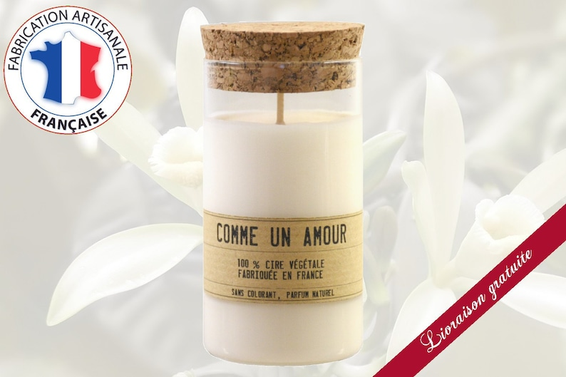 Eco-responsible candle scented Vanilla of the Islands  image 0