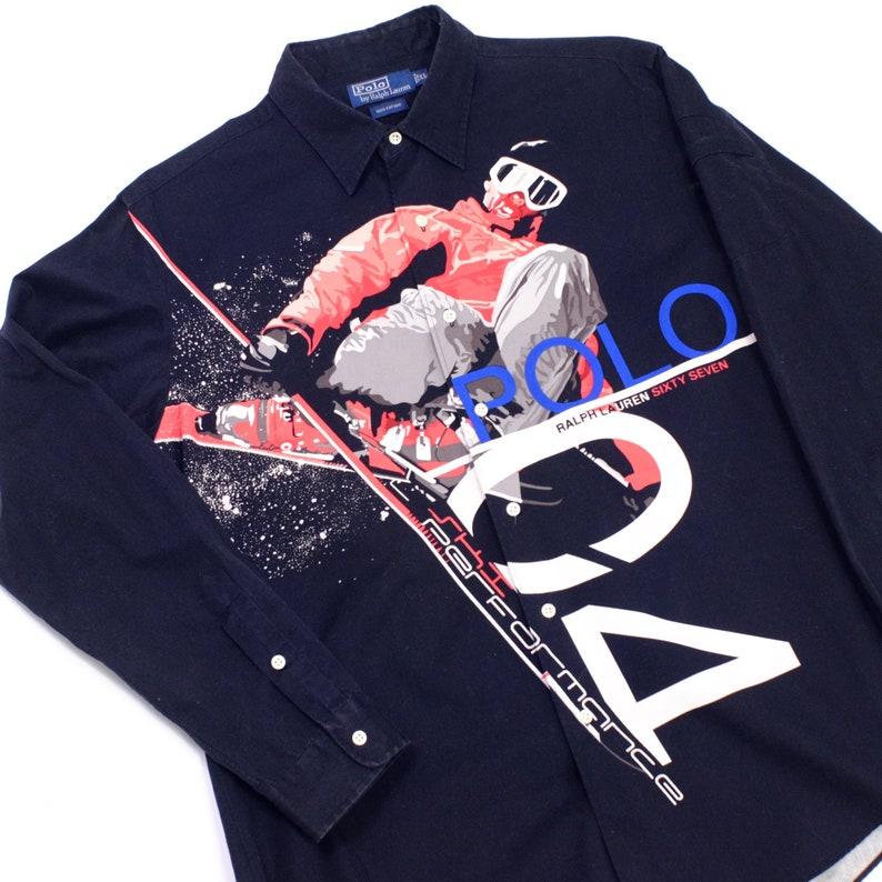 588281b4c Vintage Polo ralph Lauren shirt size xl