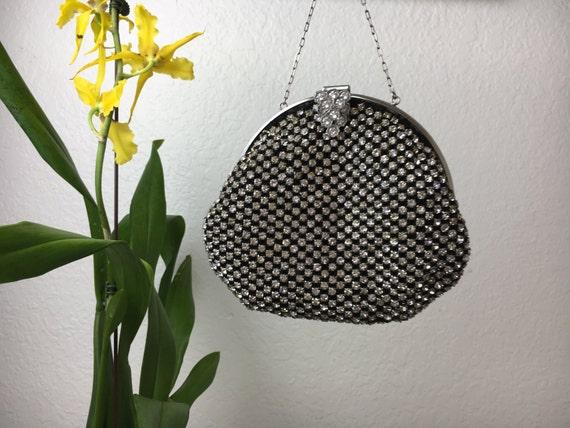 40's Crystal Evening Handbag