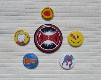 Doctor Who: ACE Jacket Buttons COMPLETE SET!