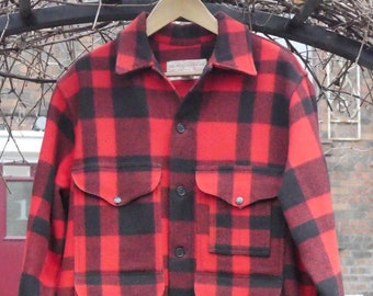 6182c95a48407 Filson Mackinaw Cruiser, Vintage. 100% Wool, made in USA, vg plus condition!