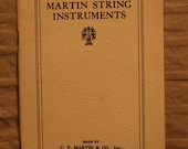 Martin Guitars reprint of their 1924 price list, images and descriptions Mugwumps, Reduced