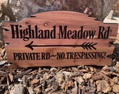 Custom Wood Signs Personalized Outdoor Welcome Sign Rustic Cedar Camp Sign Address House Numbers Bears Pine Trees Family Name