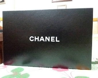 cf07ad6cc492 CHANEL Authentic Empty Cannon Wallet Box with Dust Cloth