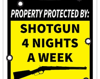 Magnet 2-3 2Nd Amendment Protected By Decal Set Second Gun Warning Magnetic Sticker Ws3