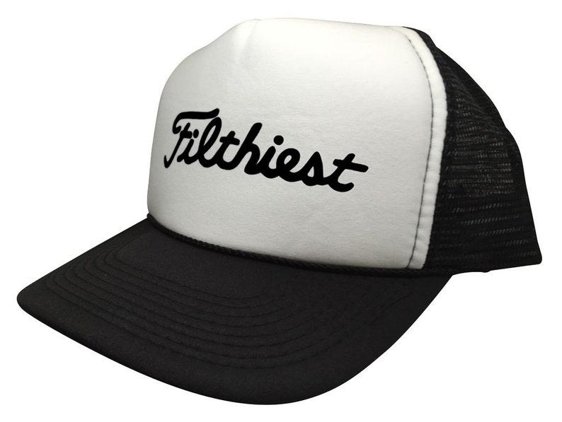 New Filthiest JDM Euro Trucker Hat Funny Snapback Cap 5 Panel  1c52050a26d2