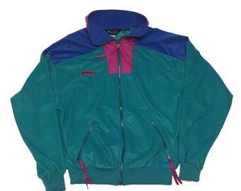 fc34b4d53bf2d Vintage Columbia Fleece - 90s Sweatshirt - Fleece Sweater - Vintage Fleece  Zip Up - Vintage Fleece Jacket - Columbia Fleece Jacket