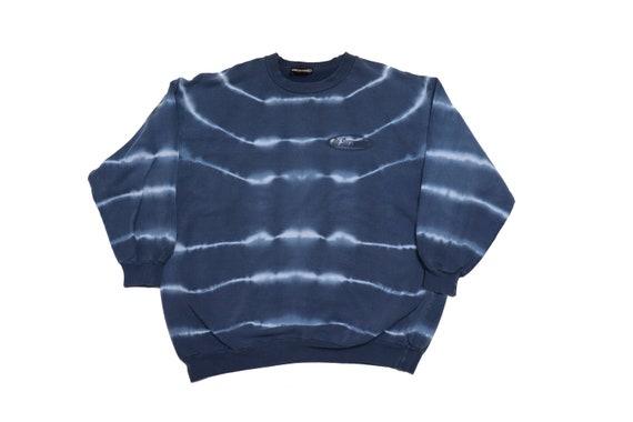 Vintage Tie Dye Sweatshirt - 90 NO SURRENDER Sweat